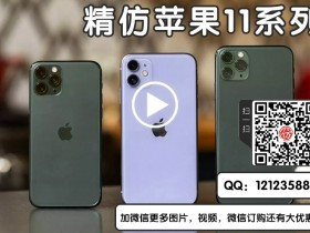 华强北iPhone 11 Pro Max✡